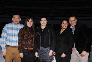04012016 Víctor, Viridiana, Diana, Sandra y Rubén.