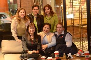 04012016 Alma, Rita, Lucía, Mayela, Rita y Blanca.