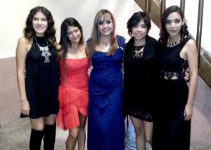 03012016 Yazmín, Vianey, Mara, Miranda y Dulce.