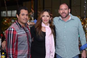 02012016 GRATOS MOMENTOS.  Alfonso, Mariana y Alejandro.