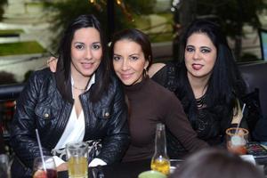 02012016 AMIGAS.  Laura, Marisol y Rosaura.