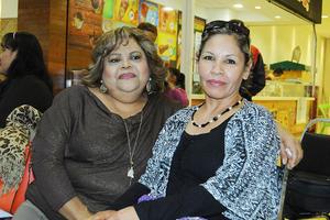 04012016 AMIGAS.  Delicia Sánchez y Silvia Valenzuela.