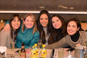 05012016 Claudia, Luz, Yulissa, Astrid y Norma.