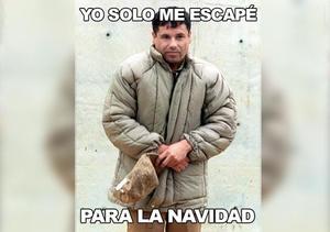 """El humor se hizo presente en la recaptura del """"Chapo"""" Guzmán."""
