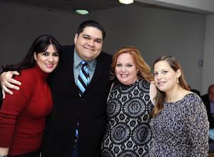 Nayma, Alejandro, Sophie y Charlotte