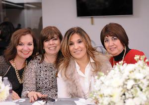 Azucena, Aracely, Lupita y Silvia