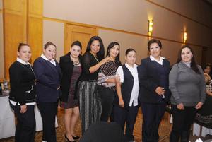 09012016 Claudia, Perla, Julieta, Rocío, Mary Cruz, Hilda, Alma y Alejandra.