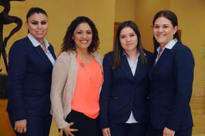 09012016 Ana, Fabiola, Lucía y Brenda.