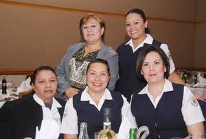 09012016 Alma, Norma, Olivia, Socorro y Andrea.