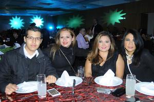 09012016 COMPAÑEROS.  Jesús, Mayela, Irán y Lupita.