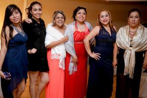 10012016 Myrna Macías Narváez, Dora Elia Macías Narváez, Raquel Ríos Narváez, Yeny Margarita Quezada, Patricia Flores Narvaez y Karen Hernández Ríos.