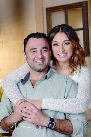 10012016 Ángeles Ramírez y Abraham Castro captados por la lente de Maqueda Fotografía.