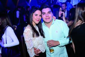 11012016 DIVERTIDA NOCHE.  Astrid y José Manuel.