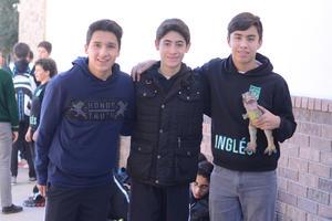 11012016 Federico, Andrés y Jesús.