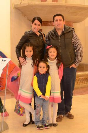 14012016 Marina, Jorge, Isabella, Mayte y Constanza.