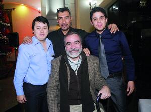 10012016 José Juan, José Luis, Luis y Efrén.