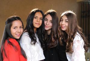 15012016 Ana Sofía, Astrid, Michelle y Jéssica.