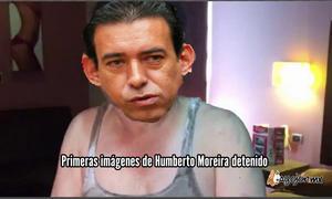 En redes se divulgó la primera imagen de la aprehensión de Moreira.