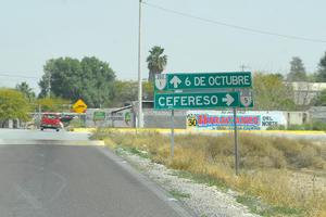 El Cefereso ocupa un total de cien hectáreas, en las inmediaciones del ejido 6 de Octubre.
