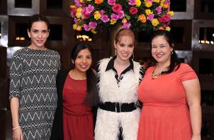 Claudia, Lucy, Clarissa y Mirna