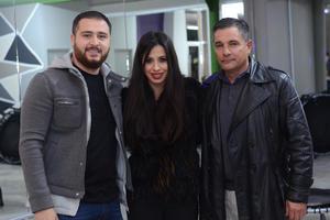 Fernando, Jacqueline y Fernando
