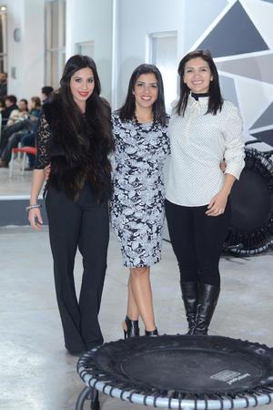 Jacqueline Angli Batarse, Mague Castillo y Flor Martínez