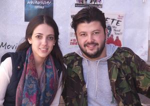 Ana Isabel y Andrés