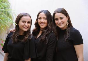 Ángela, Natalia y Mae