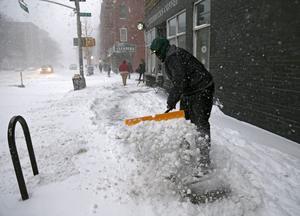 La nieve ha alcanzado niveles históricos en Nueva York.