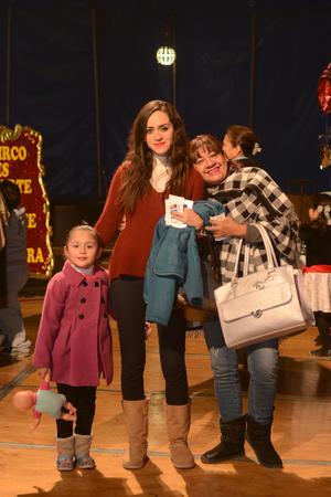CIRCO SOLARY  En la foto: Sofia, Dora y Lulu