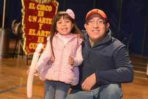 CIRCO SOLARY  En la foto: Danna y Osvaldo