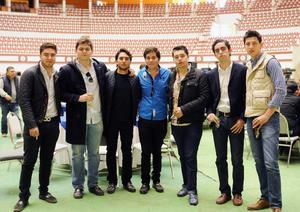 Erick Sotomayor Ruiz  CUMPLEAÑOS MARIO LOZOYA SOTOMAYOR. Pilón,Carlos,Andres,Manolo,Nito,Diego y Andres.