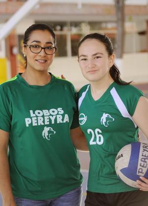 Erick Sotomayor Ruiz  TORNEO VOLIBOL PEREYRA CONTRA ALPES CUMBRES. Jordana y Mariana.