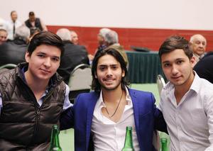 Erick Sotomayor Ruiz  CUMPLEAÑOS MARIO LOZOYA SOTOMAYOR. Pepe,Andres y Luis.