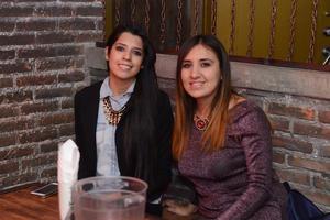 RITTER  En la foto: Verónica y ana Karen