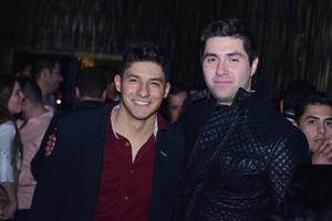 JYNX  En la foto: David y Gerardo