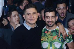 JYNX  En la foto: Armando y Pepe
