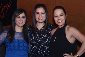 JYNX  En la foto: Lizeth, Aline y Diana