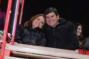 VAGON COLON  En la foto: María Piedad y José Manuel