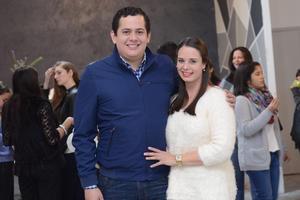 inaUGURACION JUMP & FIT  En la foto: Raúl y María