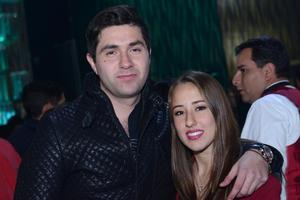 JYNX  En la foto: Gerardo y Bertha