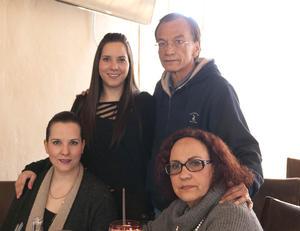 Erick Sotomayor Ruiz  RESTAURANTE NICANOR. Mariana,Luis Rey,Paulina y Marcela.