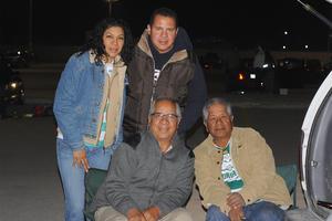 CARLOS RODRIGUEZ AGUILERA  ASISTENTES SANTOS-JAGUARES: RICARDO HERRERA, JUANIS LÓPEZ, GILBERTO HERRERA Y JESÚS HERRERA