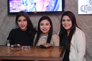 RITTER  En la foto: Dayani, Vania y Esme
