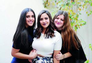 31012016 AMIGAS.  Dafne, Daniela y Ale.