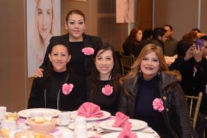 02022016 Claudia, Hortensia, Gaby y Claudia.
