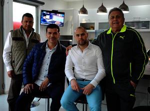 Marco, Jared, Gerardo y Gerardo