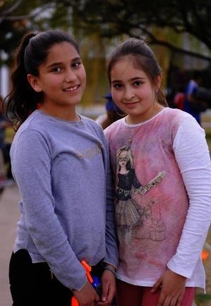 Alejandra y Natalia
