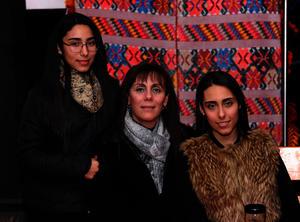 Ale, Lidia y Andrea