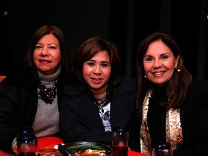Diana, Claudia y Becky